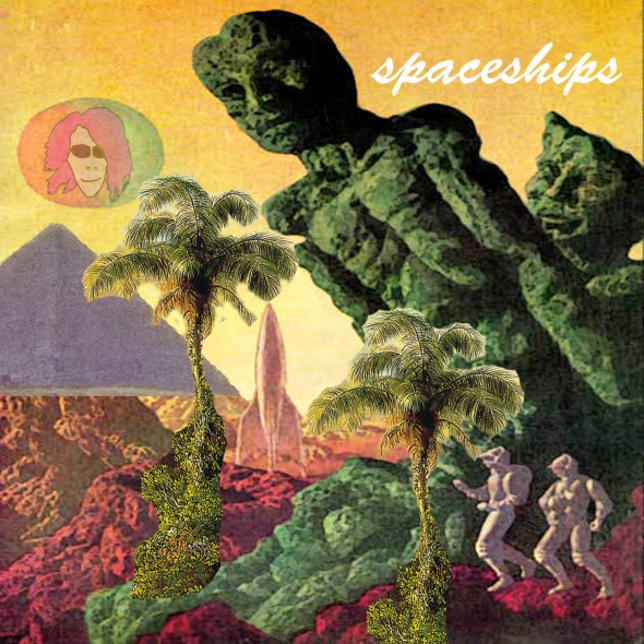 Spaceships Frontcover Cool Breeze over the Mountains